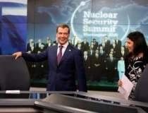 O prezentatoare Russia Today...