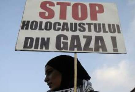 Cel putin 120 de palestinieni, ucisi duminica in Fasia Gaza. Bilantul total: 476 de morti