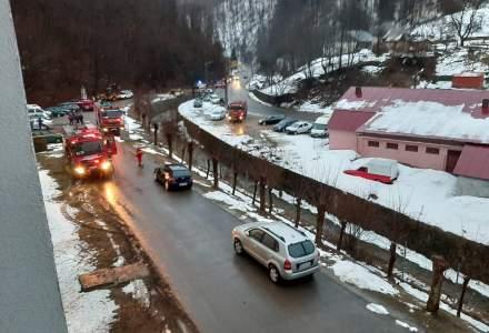 Incendiu la Spitalul de Psihiatrie din Cavnic