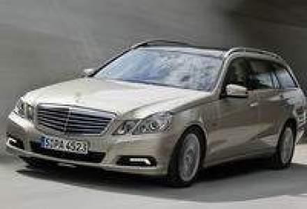 Noul Mercedes-Benz Clasa E Break, din noiembrie in Romania