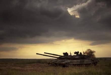 Armata ucraineana a intrat cu tancurile in Donetk