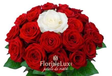 Trandafirii rosii reprezinta peste 40% din vanzarile florariilor din Romania