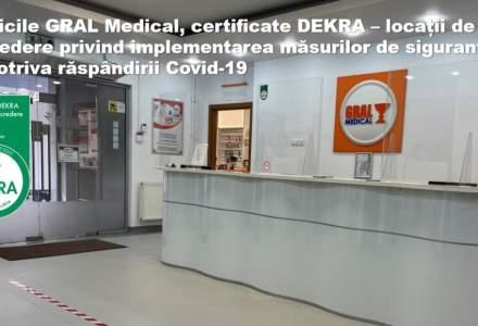 (P)GRAL, prima clinică medicală privată care își certifică locaţiile pentru implementarea măsurilor împotriva răspândirii Covid-19