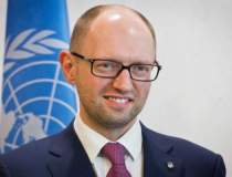 Arseni Iateniuk, premierul...