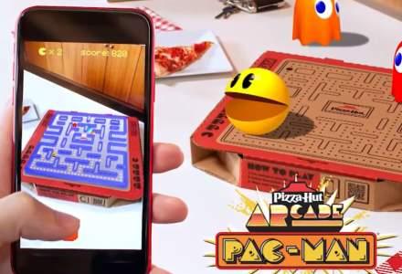Pizza Hut lansează cutii de pizza pe care poți juca Pac-Man