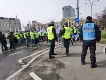 Protest al polițiștilor...