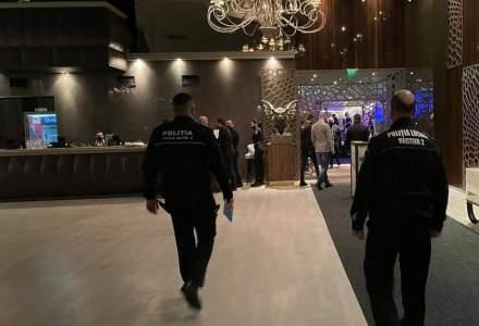 """Poliția """"a vizitat"""" unul dintre cele mai cunoscute cluburi din București: amendă și suspendarea activitățiii"""