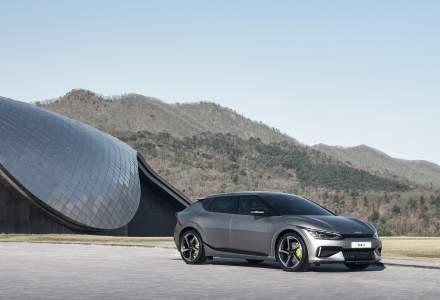 Kia a prezentat crossoverul electric EV6