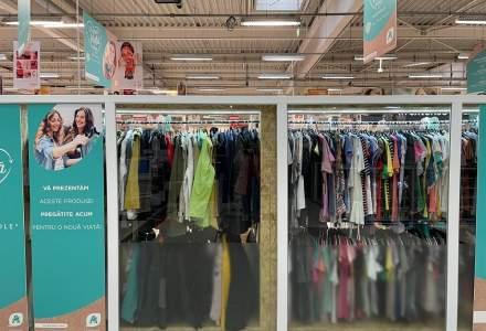 Auchan extinde programul pentru haine second hand