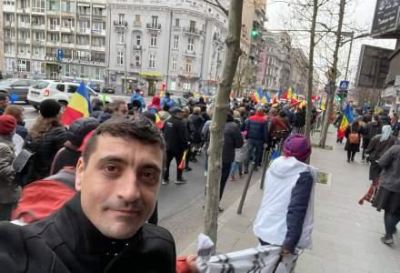 Noi proteste împotriva restricțiilor în București