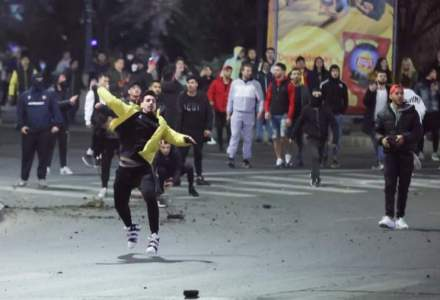 Violențe Piața Unirii: 14 protestatari au fost arestați preventiv
