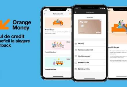 Clienții Orange Money pot obține cardul de credit 100% online, direct din aplicație