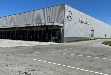Mercedes-Benz a inaugurat un centru logistic pentru distribuția de piese lângă București