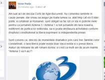 "Victor Ponta: ""Sunt obligat..."