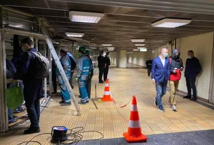 Au început demolările chioșcurilor de la metrou