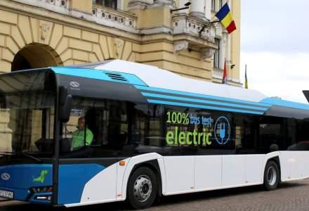 Orașul Iași va avea 20 de autobuze electrice noi
