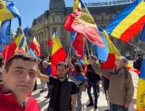 Noi proteste în București...