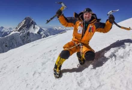Alpinistul Alex Gavan a atins al 6-lea varf de peste 8.000 m. Cat a costat ascensiunea romanului pe Broad Peak