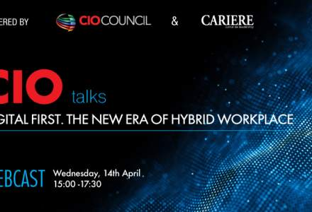 """(P) WEBCAST: CIO TALKS - Powered by CIO Council & CARIERE """"Digital first. The new era of hybrid workplace"""""""
