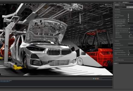 BMW Group va planifica virtual sistemele de producție din uzinele sale