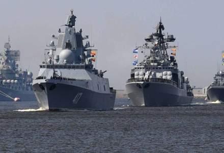 Rusia a transferat 15 nave din Marea Caspică în Marea Neagră, pe fondul tensiunilor cu SUA