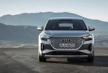 Audi a prezentat modelele electrice Q4 e-tron și Q4 Sportback e-tron
