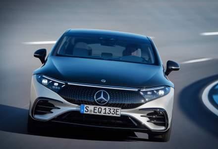 Mercedes-Benz a prezentat limuzina electrică EQS