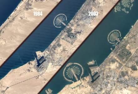 VIDEO   Vezi cum a evoluat pământul cu Google Earth time-lapse