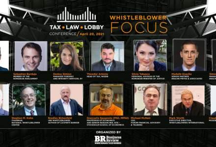 (P) Business Review organizează conferința Tax, Law & Lobby: Whistleblower Focus. Cum poate România să devină un model pentru adoptarea Directivei UE privind protecția avertizorilor de integritate?