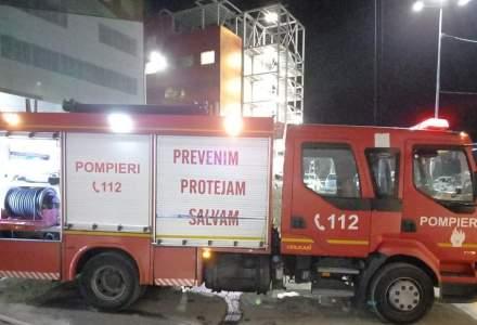 Incendiu la Spitalul Județean din Bacău
