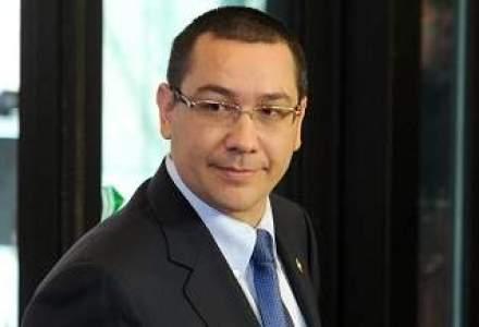 Ponta: Congresul romanilor din afara tarii, finantat de Guvern