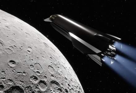 SpaceX și NASA vor trimite următorii oameni pe Lună