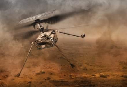 Ingenuity a făcut primul său zbor pe Marte și a scris încă o pagină de istorie a explorării spațiale