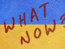 Un drapel ucrainean a fost...