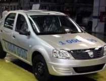 Dacia put out one million...
