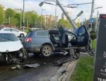 Accident grav în București....