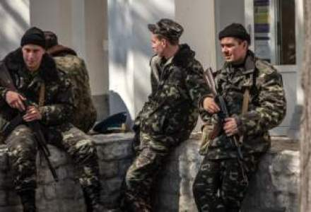 "Obama si Merkel apreciaza ca Rusia s-a angajat intr-o ""escaladare periculoasa"" in Ucraina"