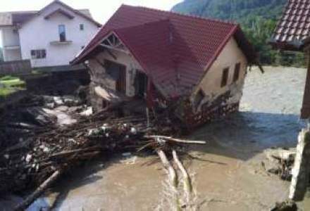 Cod galben de inundatii in 16 judete, pe afluenti ai raurilor Olt, Arges, Ialomita si Siret