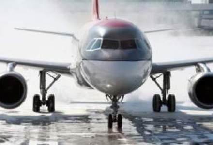 Pista de 2.100 m de pe Aeroportul din Cluj, in linie dreapta