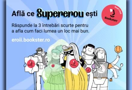 (P) Bookster te invită să afli ce supererou ești