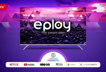 (P) Allview își face debutul în era tehnologică TOUCHLESS prin lansarea seriei de Smart TV-uri ePlay7100