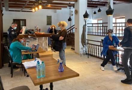 Angajații din domeniul restaurantelor și hotelier sunt vaccinați la Hanul lui Manuc