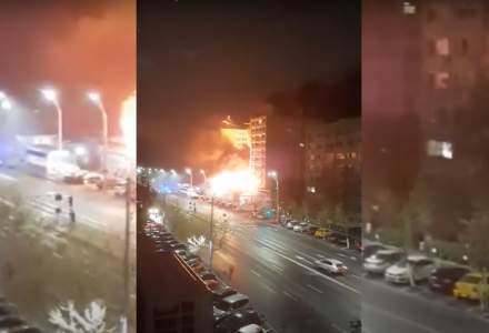 Incendiu la restaurantul Dristor Kebap din Tineretului