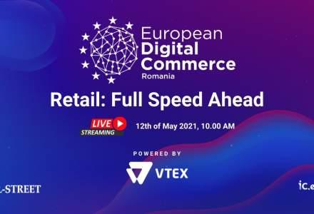 European Digital Commerce, by VTEX: Înscrie-te gratuit și fii alături de specialiști locali și internaționali