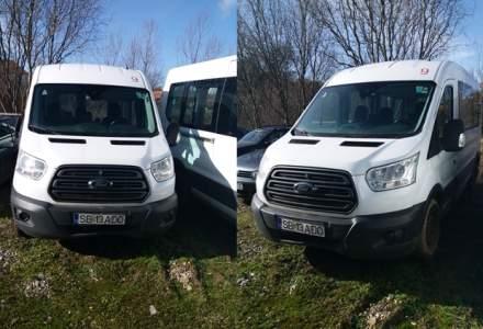 Noi mașini scoase la vânzare de către ANAF