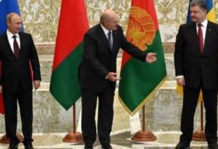 "Fotografia zilei. Lukasenko, catre Porosenko: ""Putin nu musca!"""