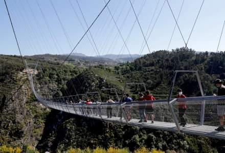 Așa arată cel mai lung pod pietonal din lume inaugurat de Portugalia