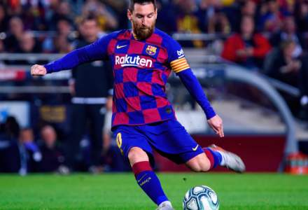 Ghetele lui Messi, vândute la licitație pentru 143.000 de euro