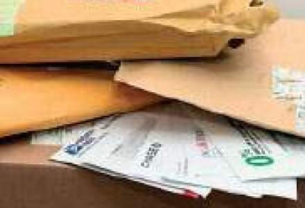 Veniturile din serviciile postale au crescut cu 55% in 2008, pana la 1,6 mld. lei