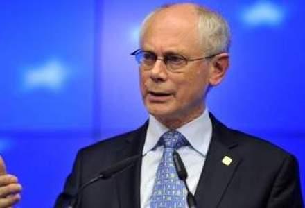 Herman Van Rompuy, surprins de un microfon in timp ce spunea ca Donald Tusk va fi succesorul sau